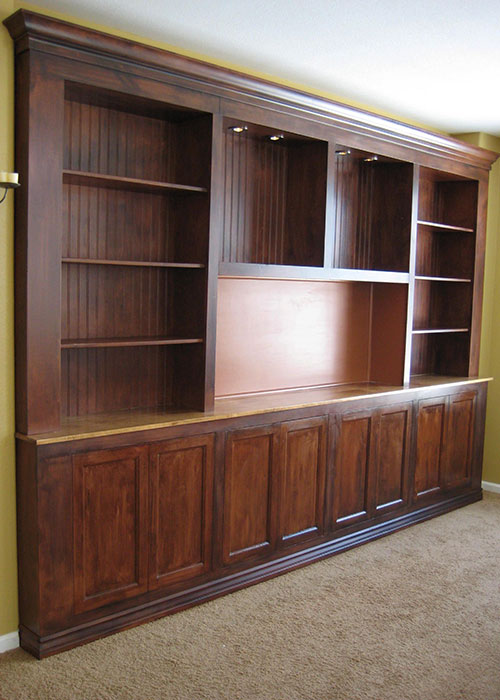 Faux Cabinets
